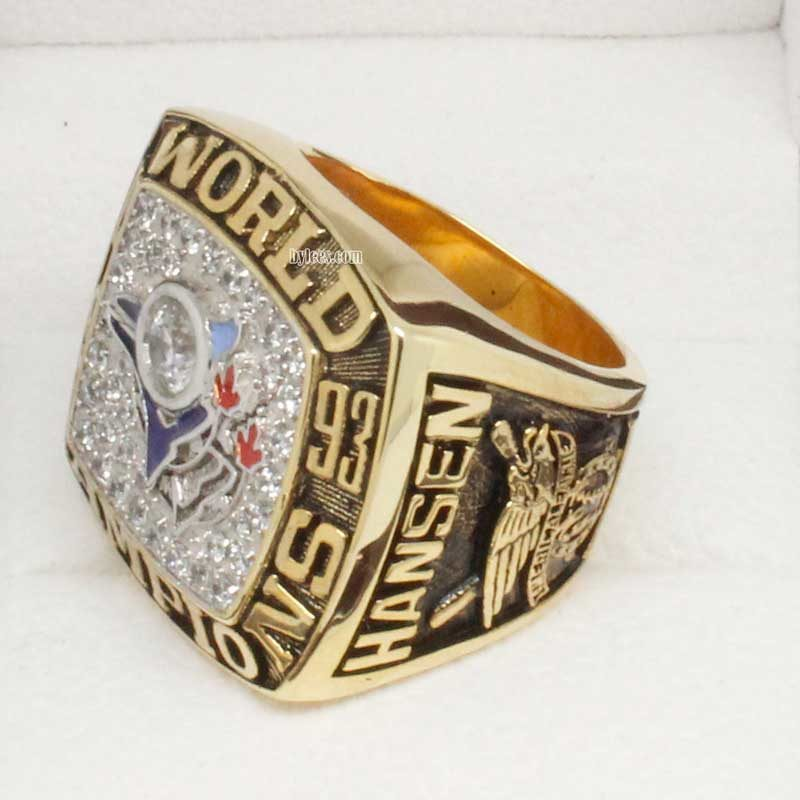 1993 blue jays world series ring