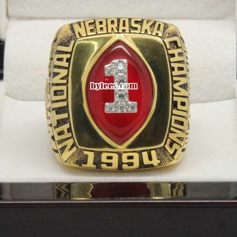 1994 Nebraska Cornhuskers Championship Ring
