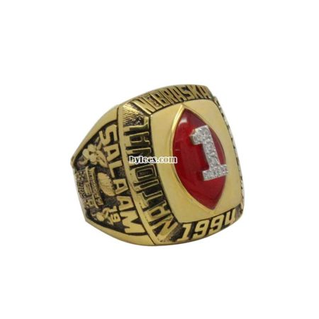 1994 NCAA Football Championship Ring