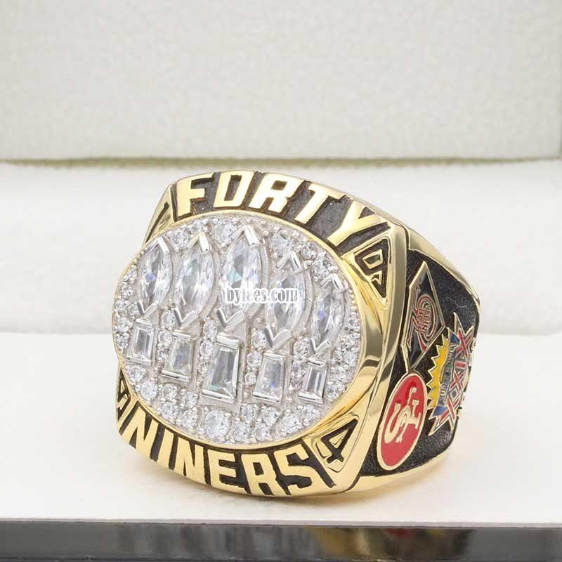1994 San Francisco 49ers Super Bowl XXIX Championship Ring