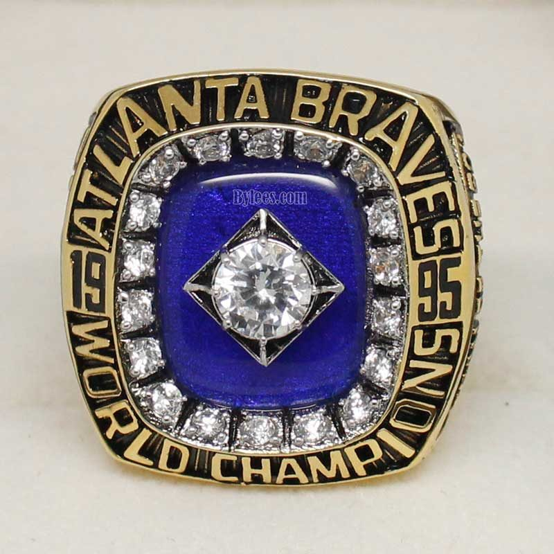 1995 braves world series ring