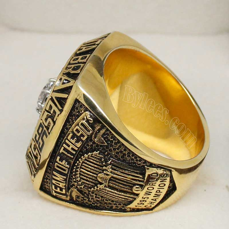 braves world series replica ring in 1995