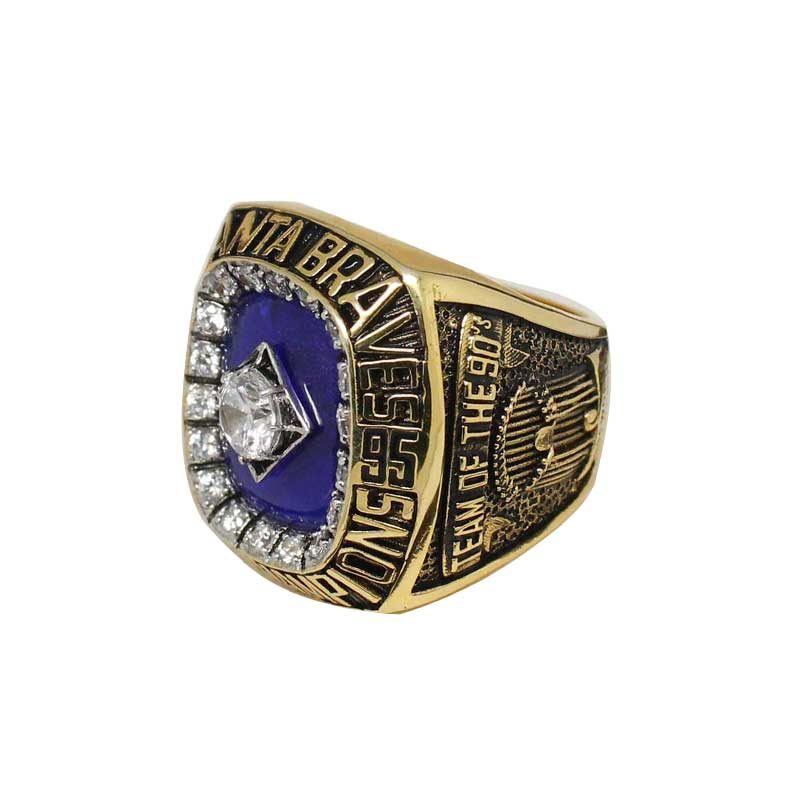1995 Atlanta Braves World Series Championship Ring (thumbnail)