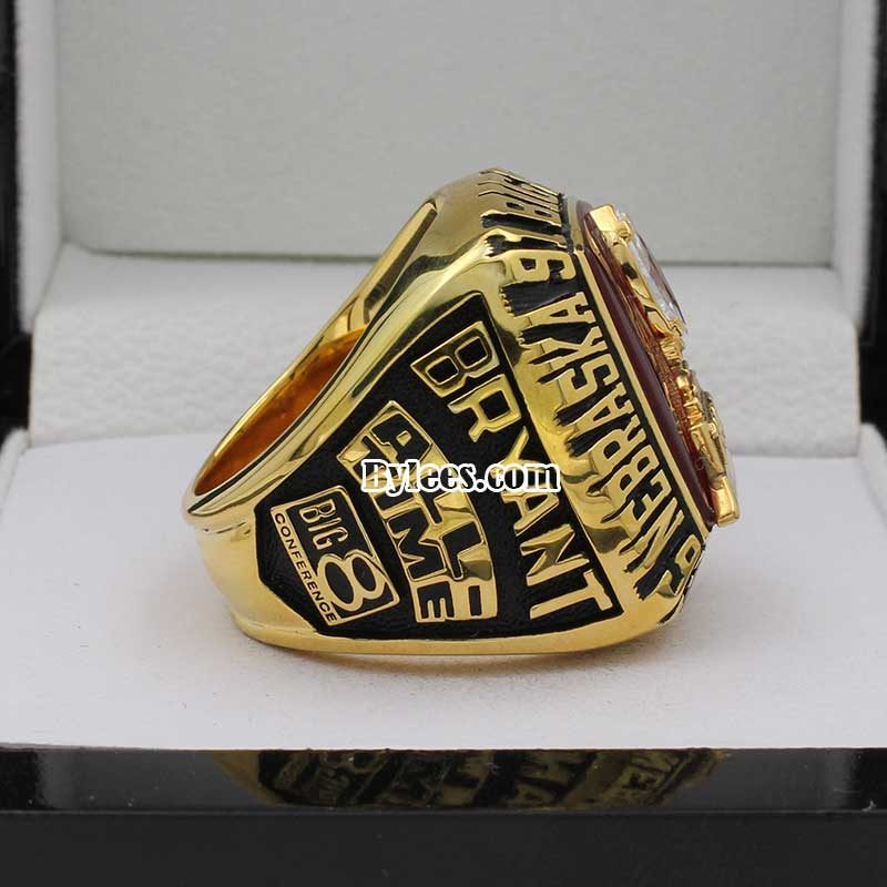 1995 Nebraska Championship Ring