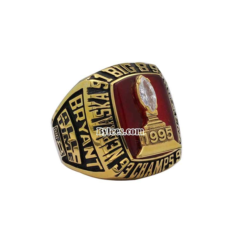 1995 Cornhuskers Big Eight Championship Ring