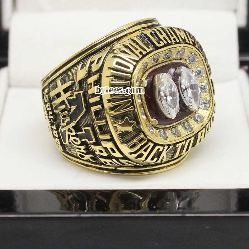 1995 nebraska cornhuskers ring