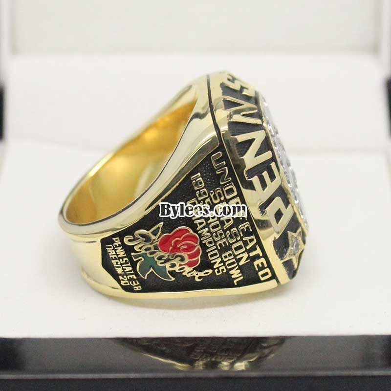 Penn State Championship ring ( ACC Champions in 1994 and Rose Bowl Champions in 1995)