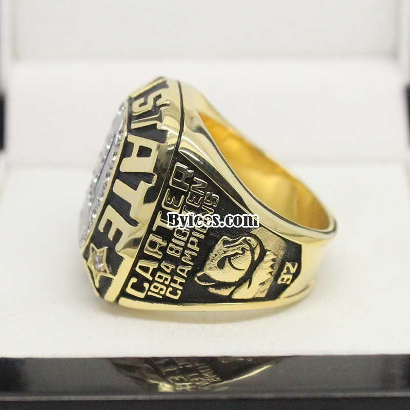Penn State Rose Bowl Championship ring 1995