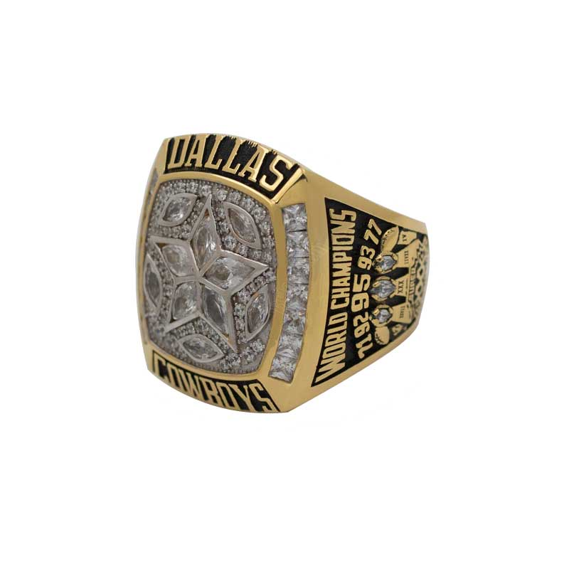 Super bowl xxx mvp larry brown's gold championship ring hits the auction block