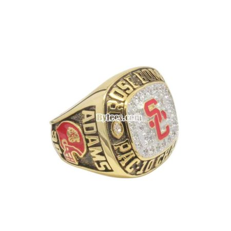 1996 USC Trojans Rose Bowl Championship Ring