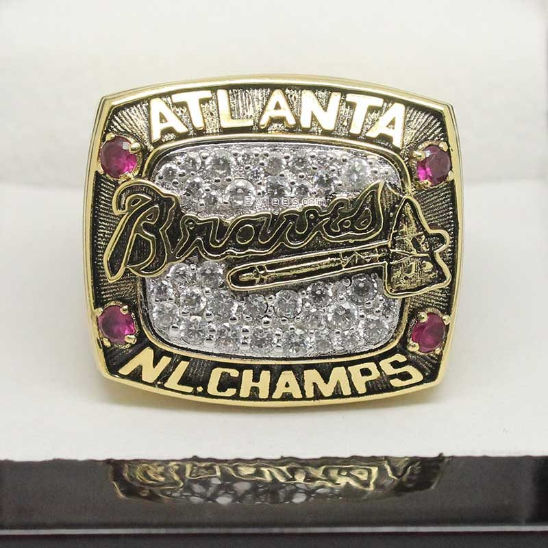 1996 Atlanta Braves Championship Ring