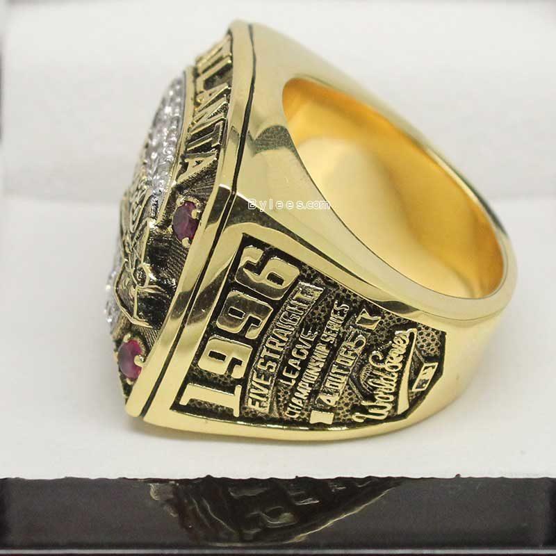 Atlanta Braves 1996 Championship Ring