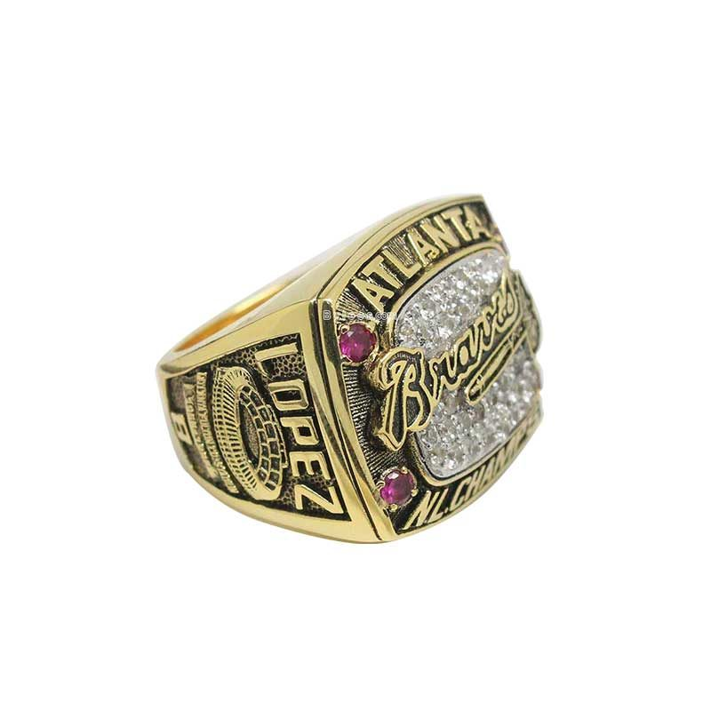 1996 Atlanta Braves National League Championship Ring (thumbnail)