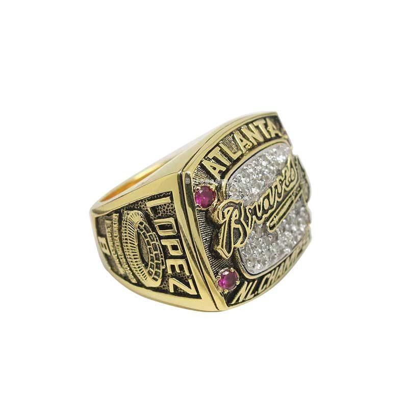1996 Atlanta Braves National League Championship Ring (thumbnail)