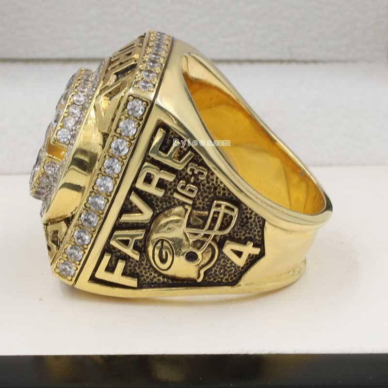Packers Brett Favre 1996 super bowl XXXI Championship ring