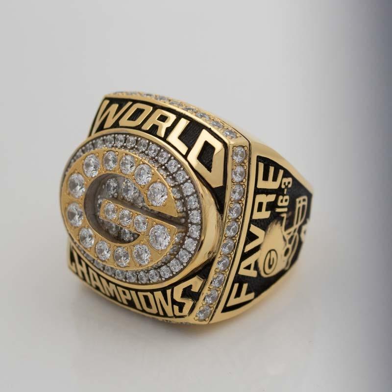 Brett Favre 1996 super bowl XXXI ring