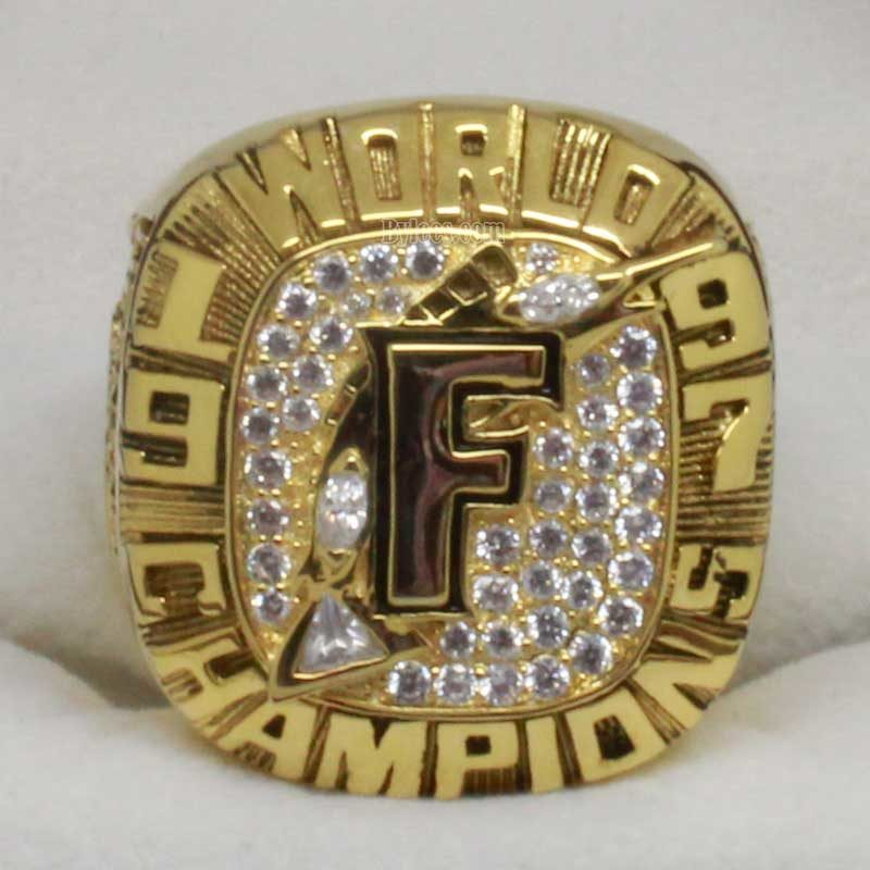 marlins 1997 world series ring