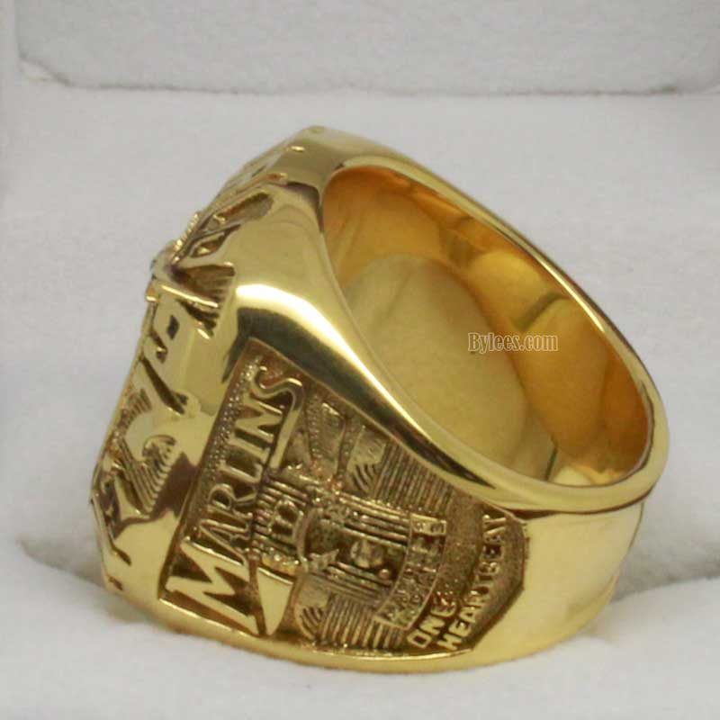 1997 Miami Marlins Championship Ring