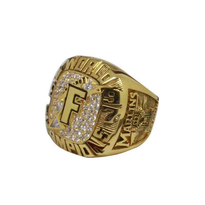 1997 Miami Marlins World Series Championship Ring