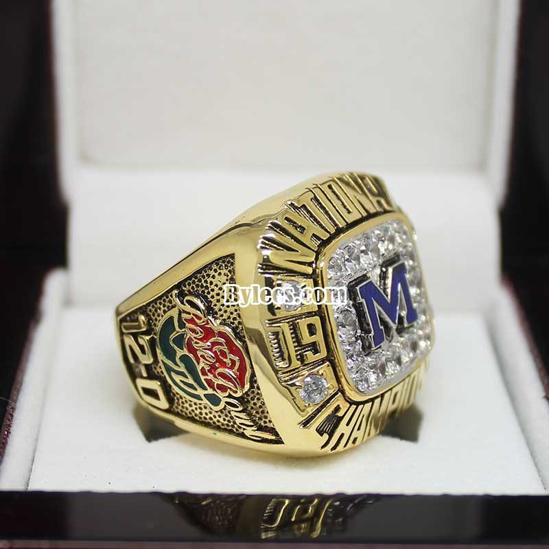 1997 Michigan Footbal Championship Ring