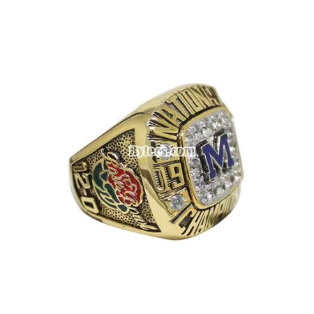 1997 Michigan Wolverines Championship Ring
