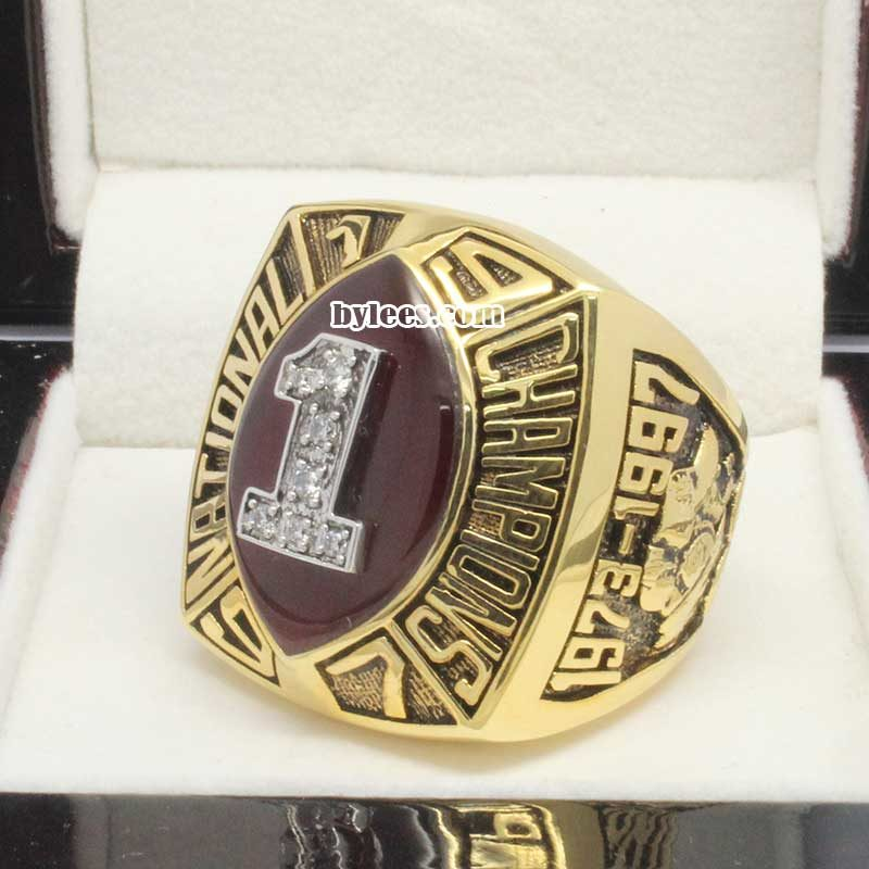 Nebraska 1997 National Championship Ring