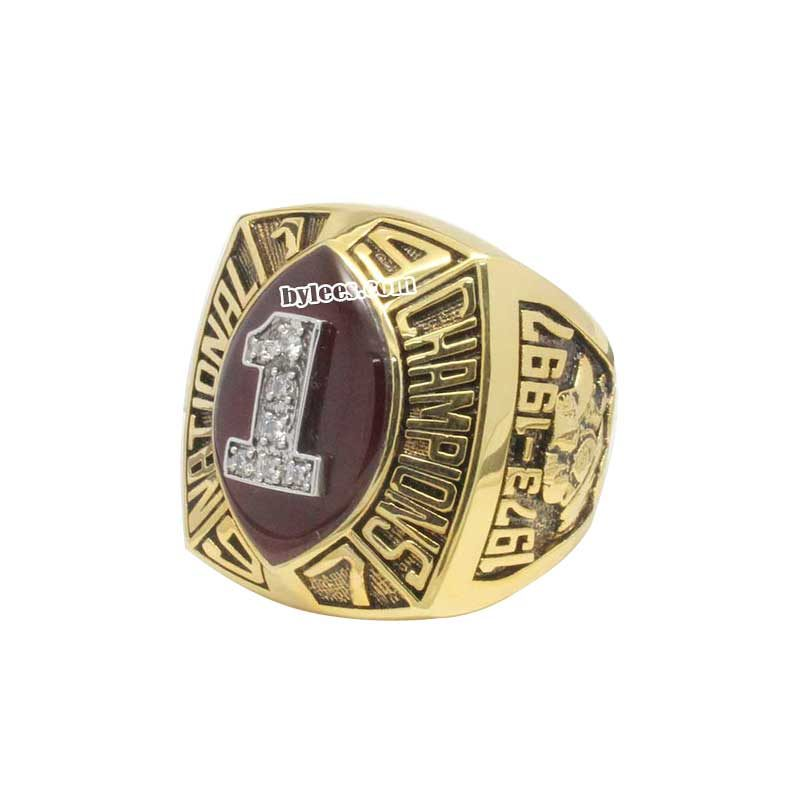 1997 NCAA Football National Championship Ring