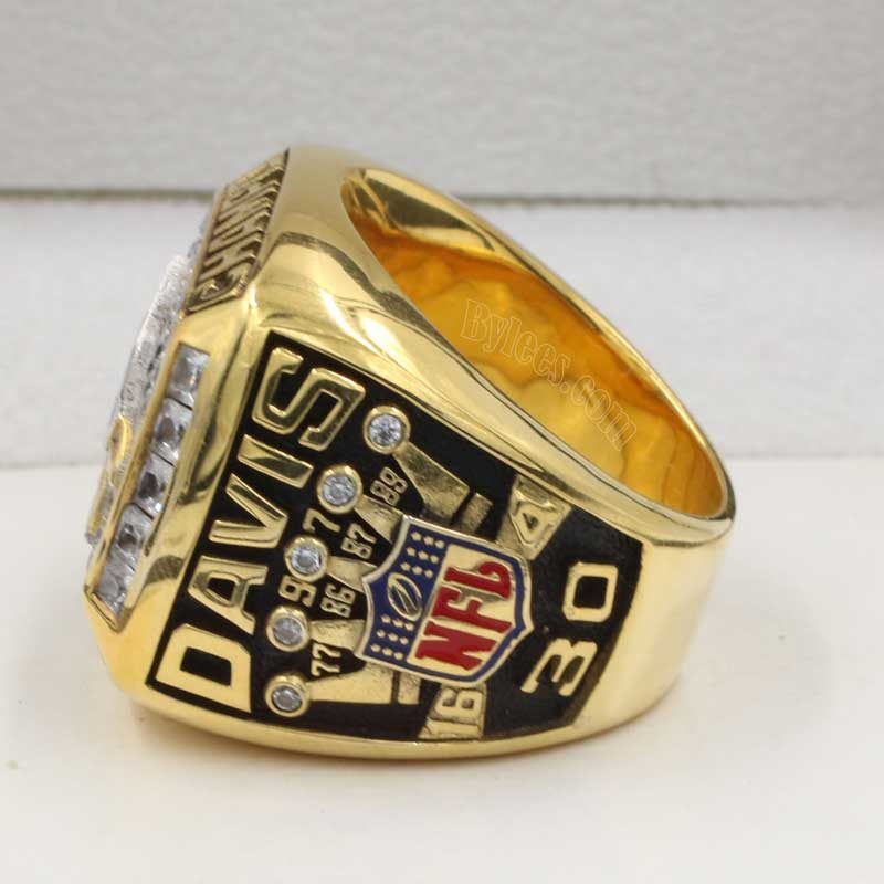 Denver Broncos 1997 Championship Ring