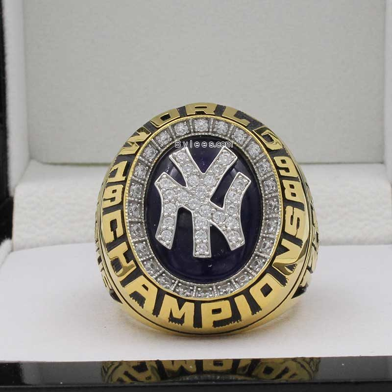 1998 yankees world series ring