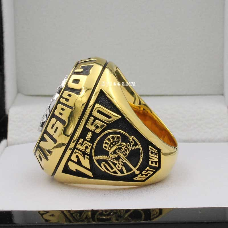 yankees 1998 world series ring