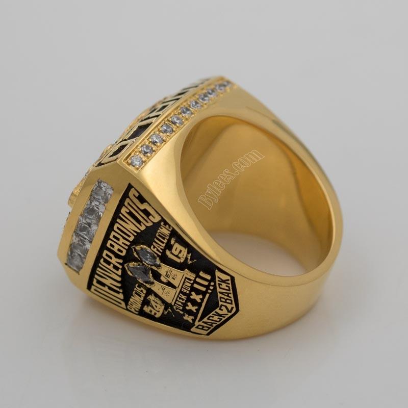 Terrell Davis 1998 Super Bowl XXXIII Championship Ring
