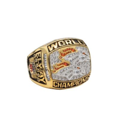 2013 Denver Broncos American Football Championship Ring