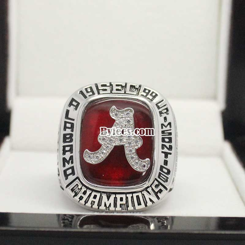 Alabama 1999 SEC Championship Ring