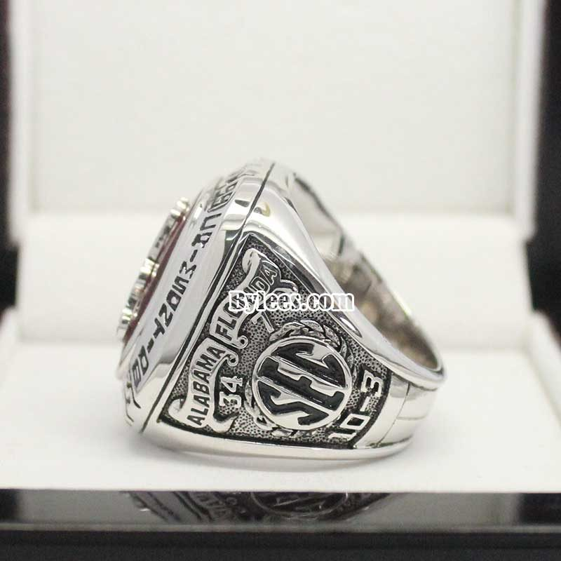 1999 Crimson Tide SEC Championship Ring