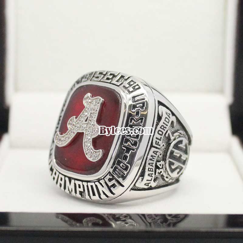1999 Alabama Crimson Tide SEC Championship Ring