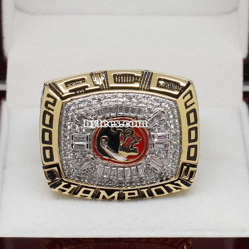2000 Florida State ACC Championship Ring