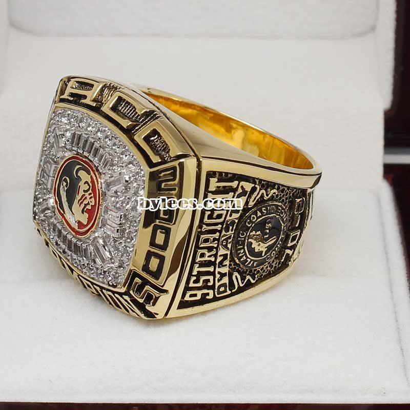 2000 FSU Florida State Seminoles ACC Championship Ring