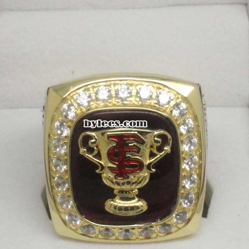 2000 Florida State Sugar Bowl Championship Ring