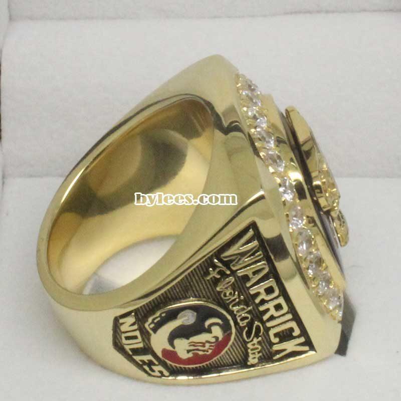 2000 FSU Florida State Sugar Bowl Championship Ring