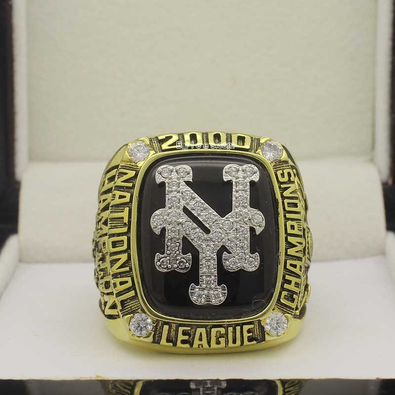 mets 2000 national league championship ring