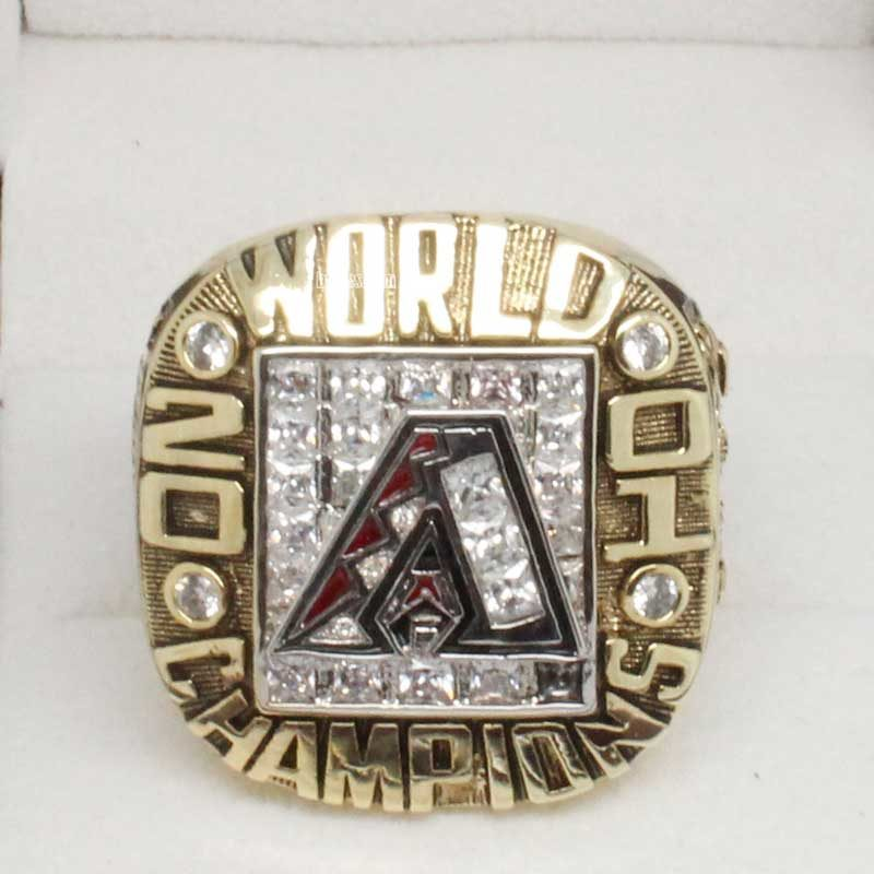 2001 Arizona Diamondbacks World Series Championship Ring