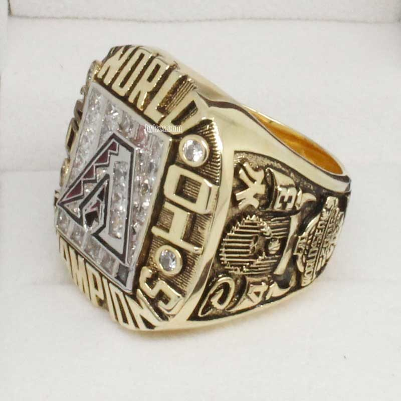 2001 diamondbacks world series ring
