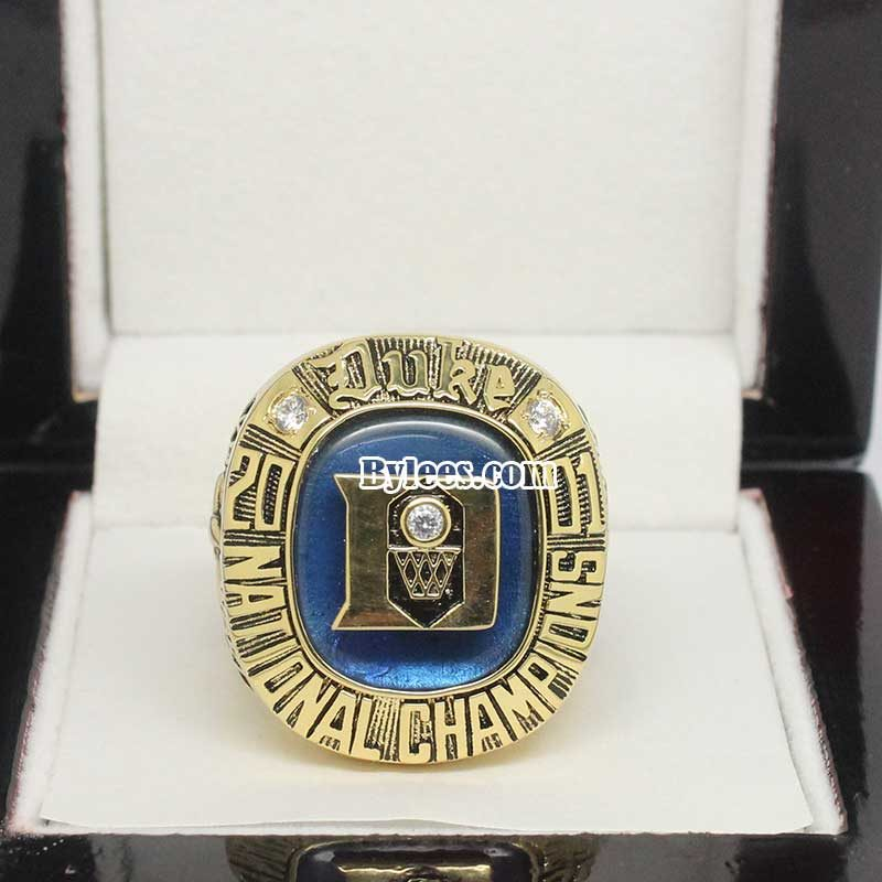 2001 Duke Blue Devils Basketball National Championship Ring