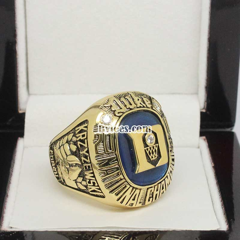 2001 Duke Basketball National Championship Ring