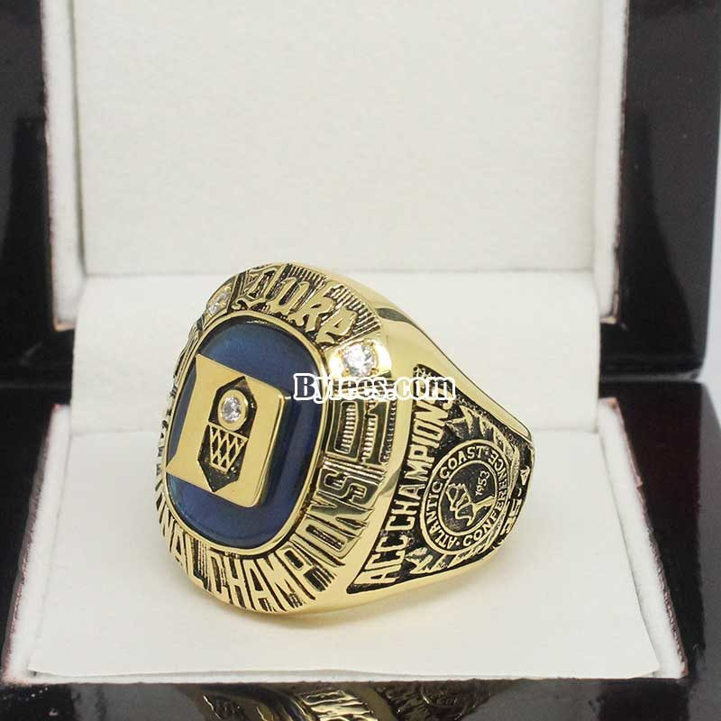 2001 NCAA Basektball National Championship Ring