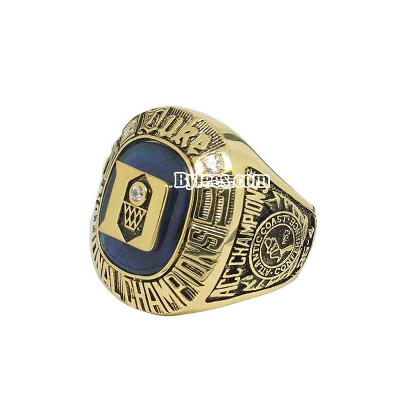 Duke 2001 Basketball National Championship Ring