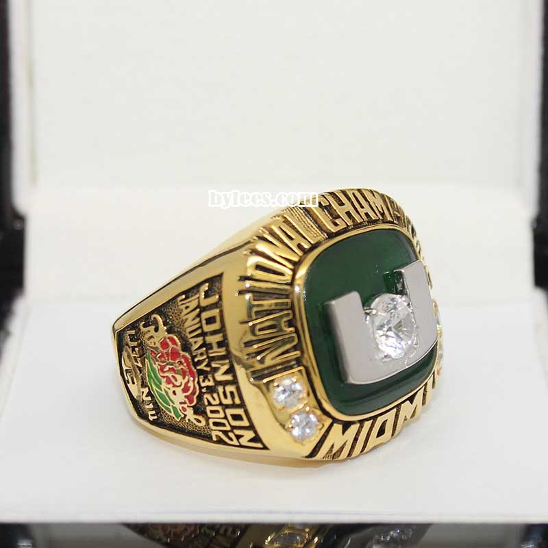 2001 UM National Championship Ring