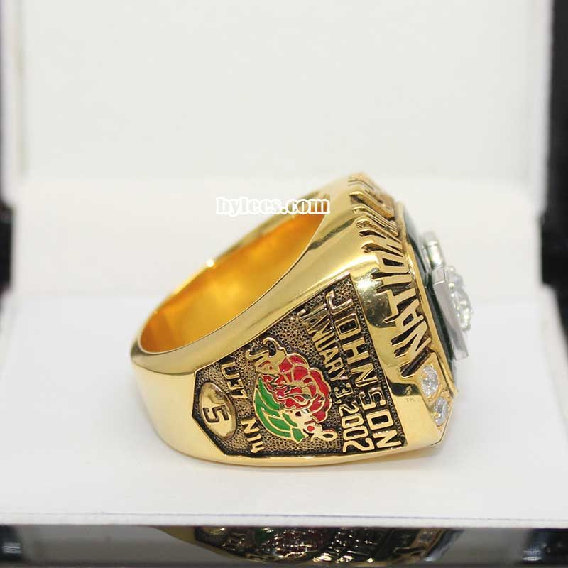 Univerysity of Miami 2001 National Championship Ring