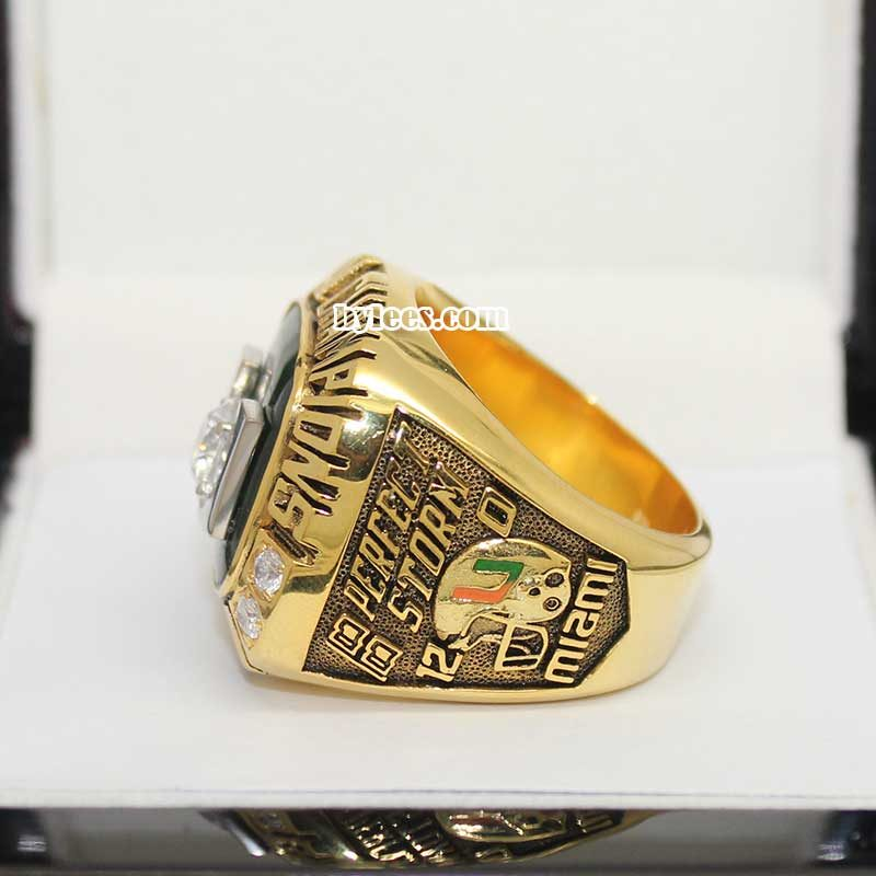 UM 2001 National Championship Ring