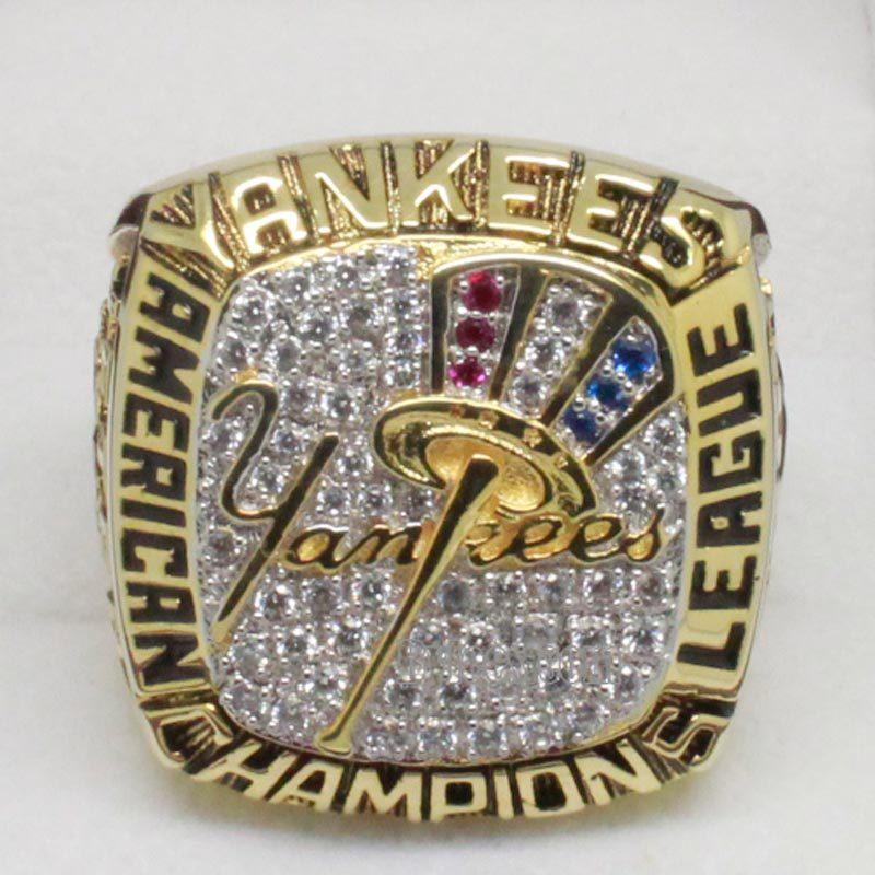 2001 yankees championship ring